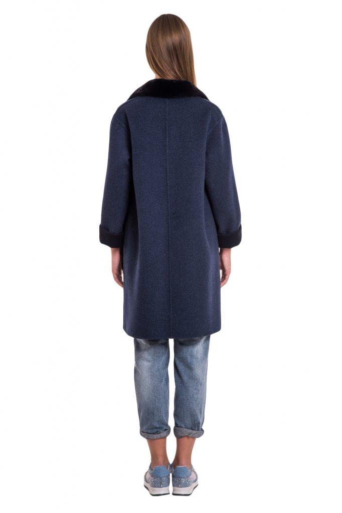 Итальянские женские пальто из норки и кашемира от Manzoni24 в Киеве 7e9e2bfff01